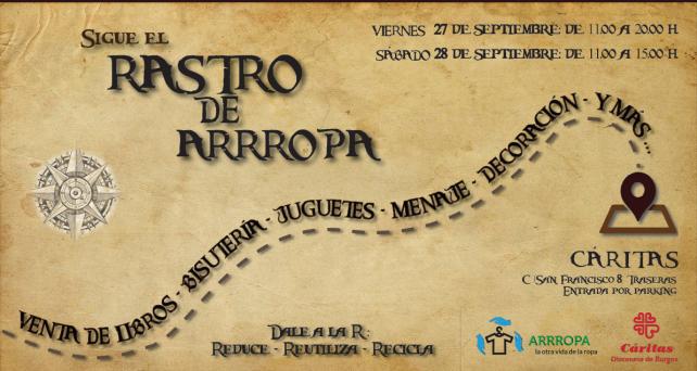 Arrropa presenta su primer rastro con el lema «Reducir, reutilizar, reciclar»