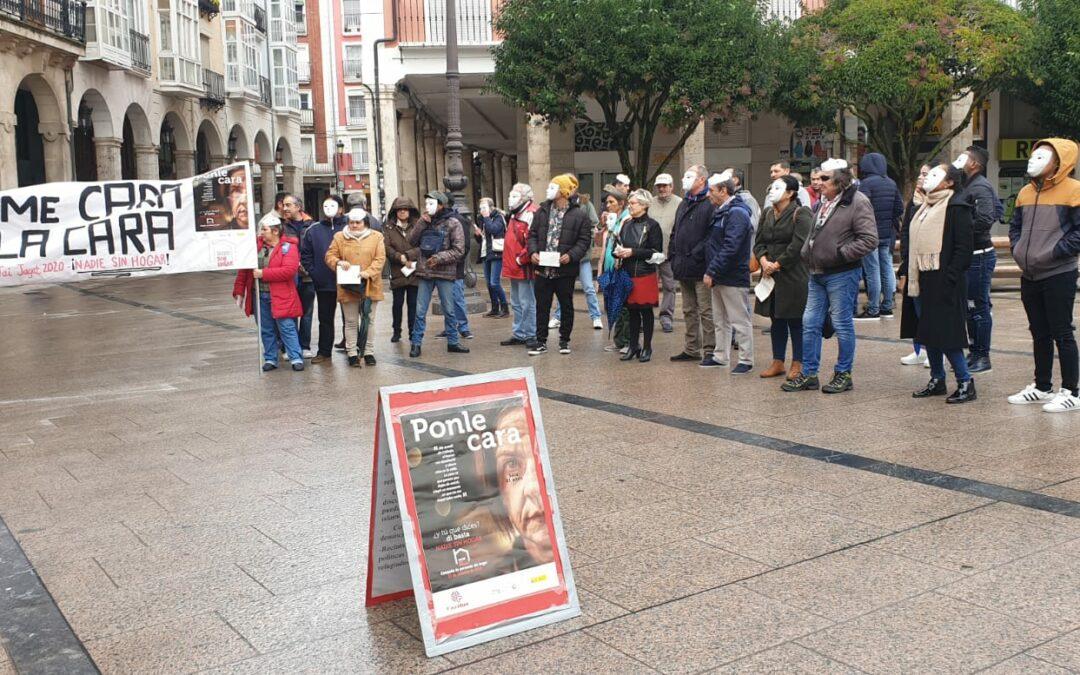 Acto de calle por el Día de las Personas sin Hogar