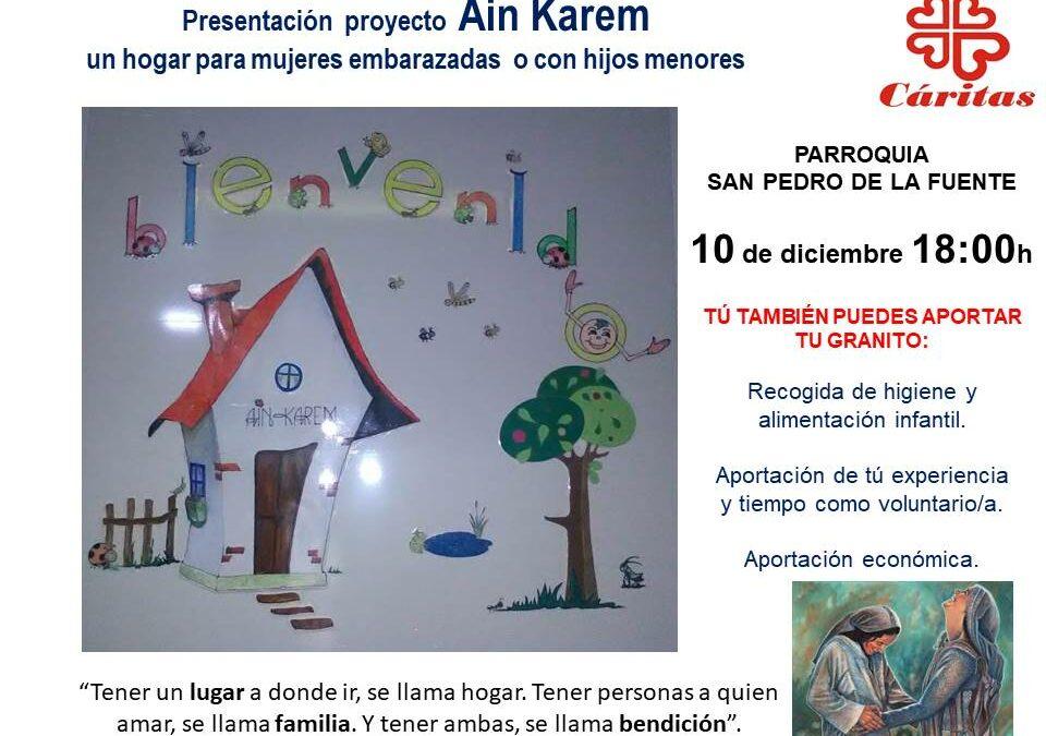 Presentación de Ain Karem en San Pedro de la Fuente
