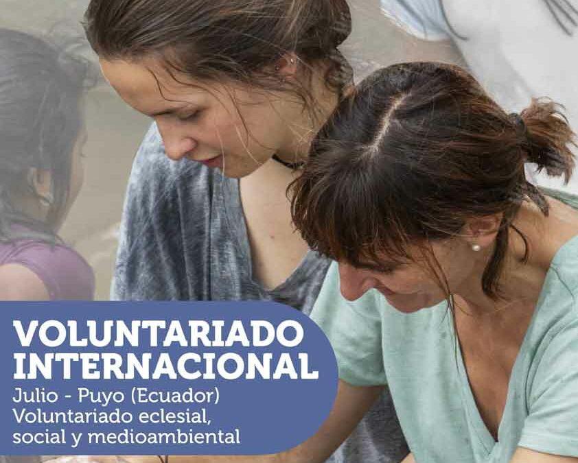 Abierto el plazo de información sobre Voluntariado Internacional