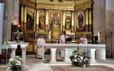 Celebración del Corpus en Aranda