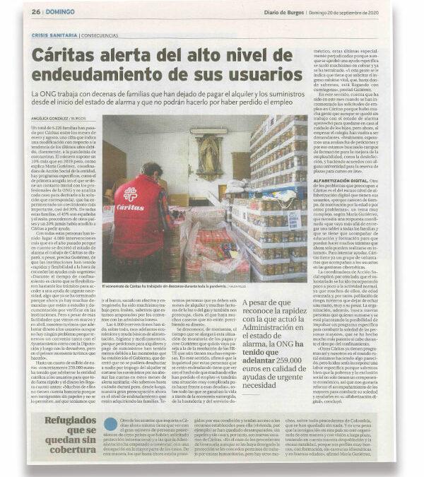 La situación tras la pandemia, en los medios