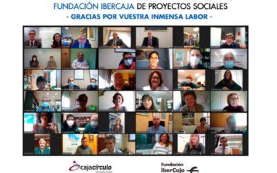 Cáritas, entre los firmantes de los convenios de la Fundación Cajacírculo y Fundación Ibercaja