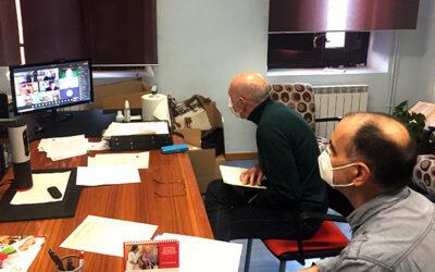 Voluntarios de Caritas participan en la formación permanente del clero