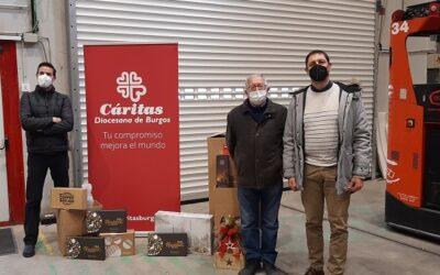 ASTI entrega a Cáritas los regalos de cortesía recibidos en Navidad