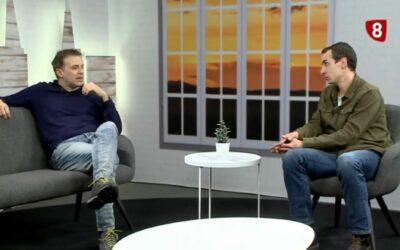 La exclusión social y el COVID, en La8 Televisión